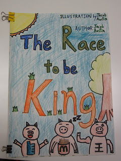 The Race to Be King by Jacob and Austin.