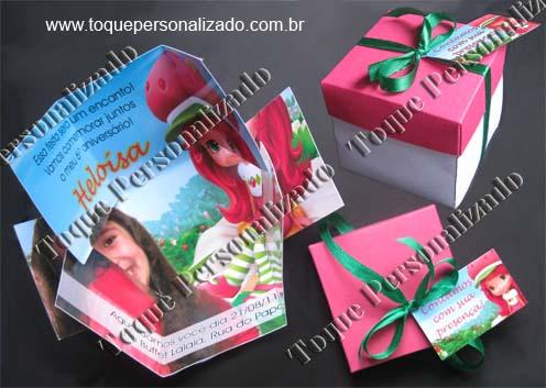 Convite box