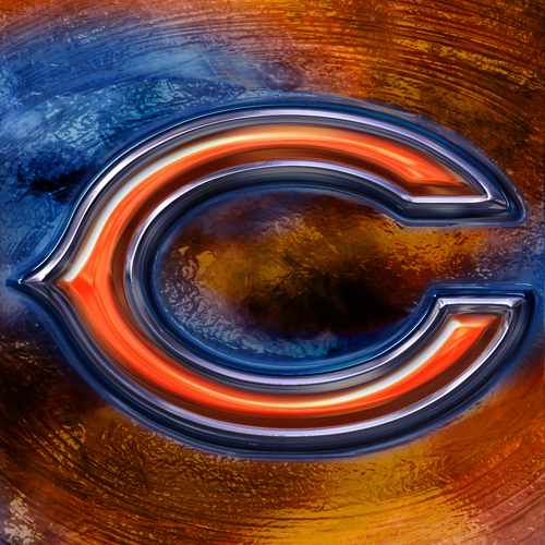 Chicago Bears Wallpapers: Wallpapers By Wicked Shadows: Chicago Bears 3D Logo Wallpaper