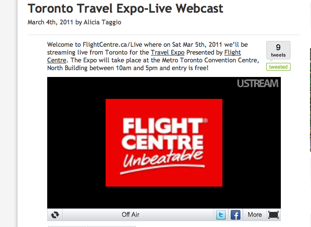 Talk to Me Live at the Toronto Travel Expo | My Life Untethered
