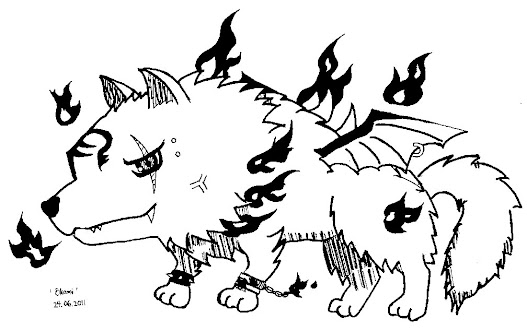 Image: 組長の Beast Form (Ookami)