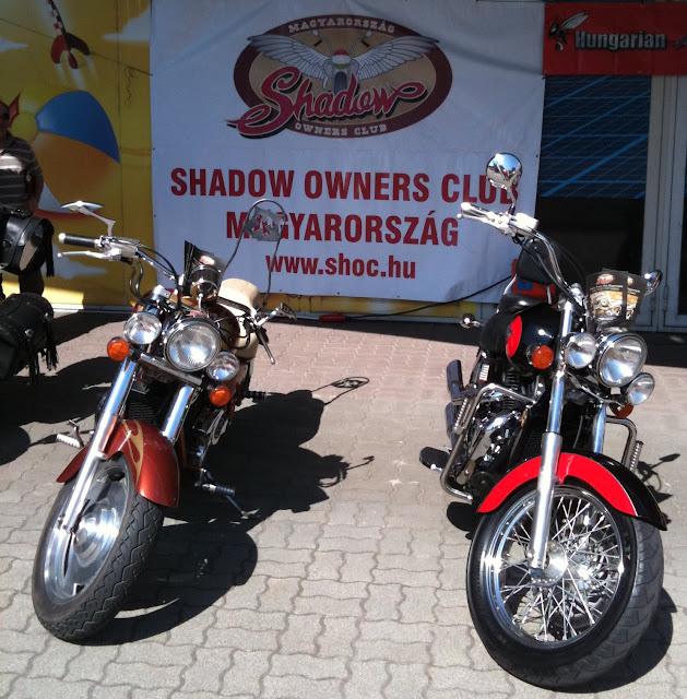 Motorrevü a Duna Plazában - 2011 május 7. - Shadow Owners Club Magyarország