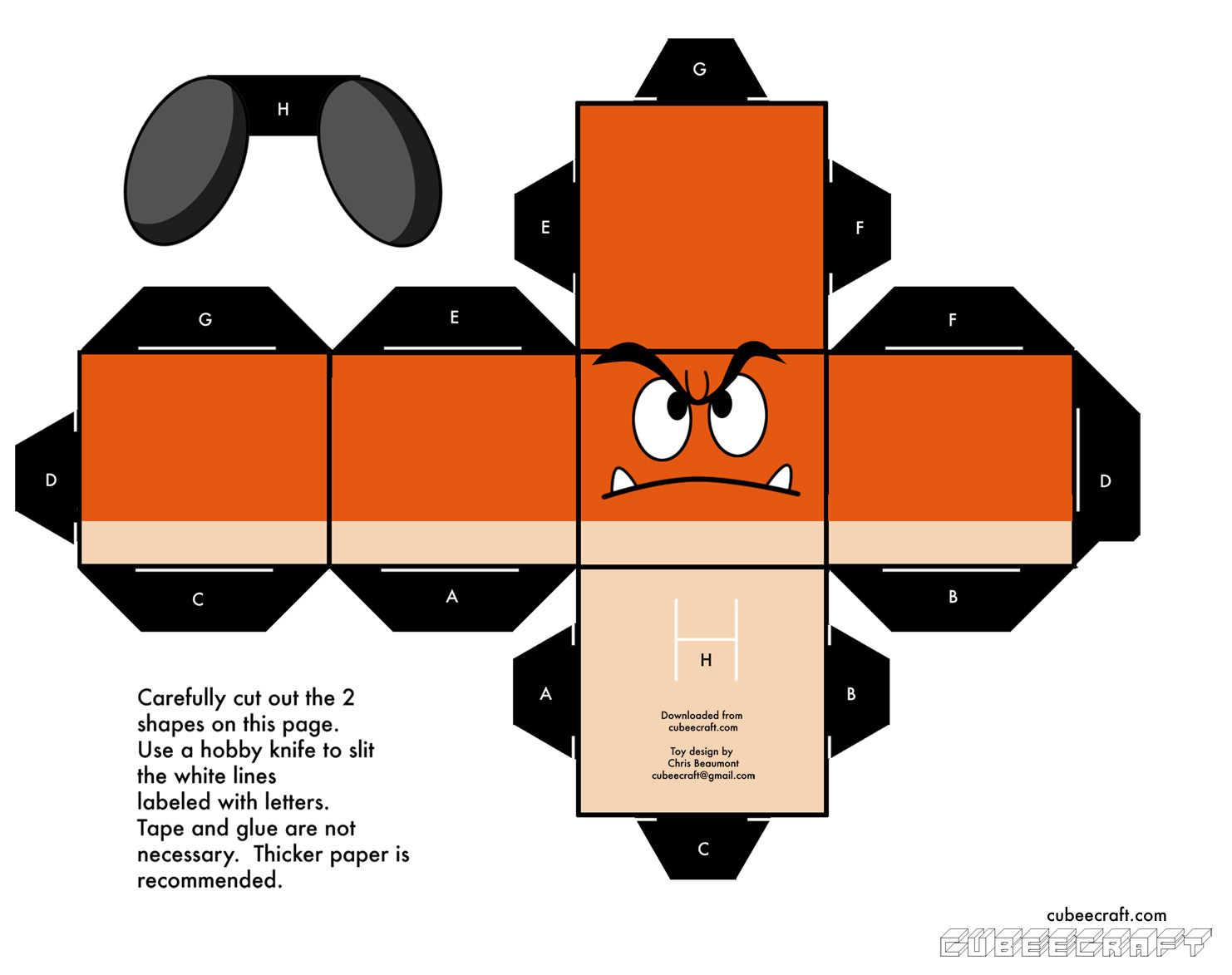 star wars paper theatre english instructions