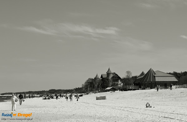 łebska plaża