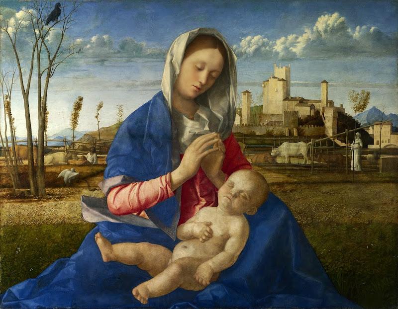 Giovanni Bellini - Madonna of the Meadow (Madonna del Prato)