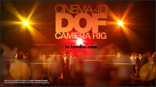 Cinema 4D and Project - DoF Camera