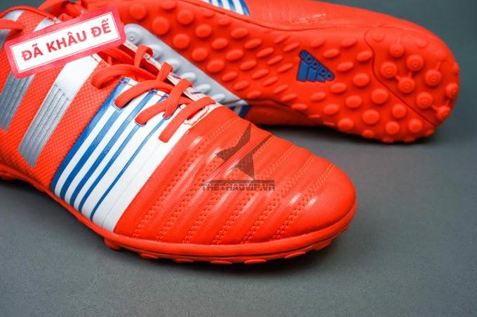 bán buôn giày bóng đá Nitrocharge 3.0 TF cam trắng