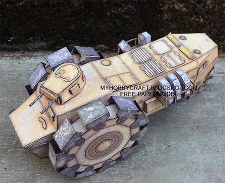 Alkett VSKFZ 617 Deminer Papercraft