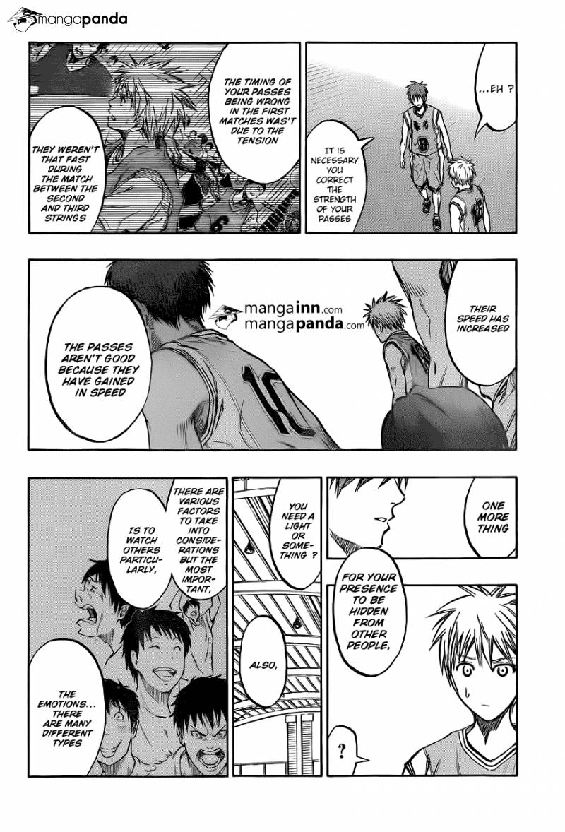 Kuroko no Basket Manga Chapter 209 - Image 14