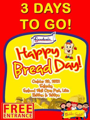 bread, announcement, free grub