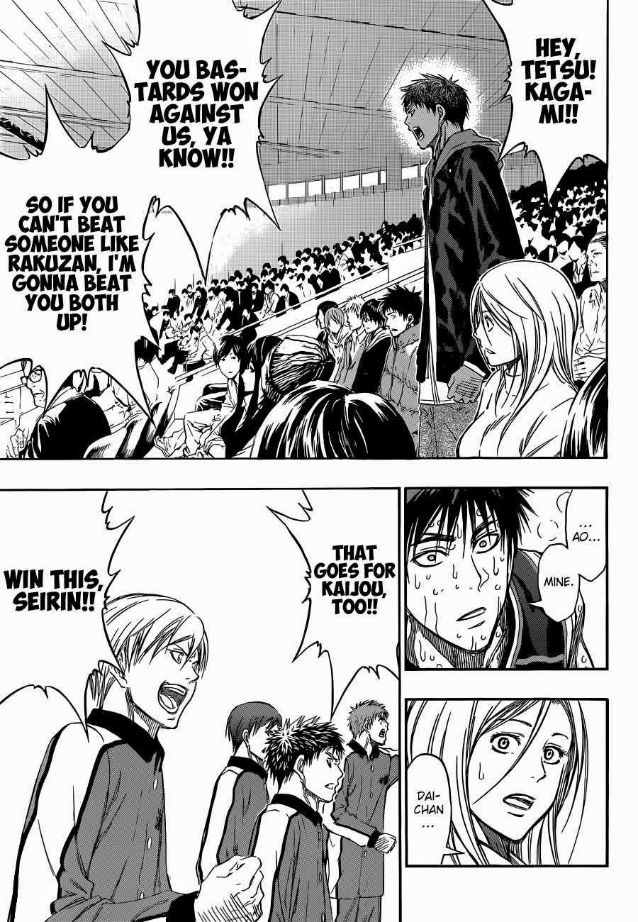 Kuroko no Basket Manga Chapter 269 - Image 15