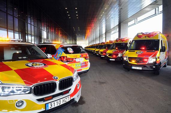 72 ambulancias y 18 vehículos de intervención rápida para SAMUR-Protección Civil