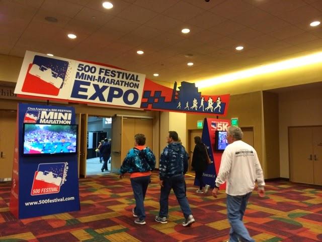 Indy Mini Marathon expo