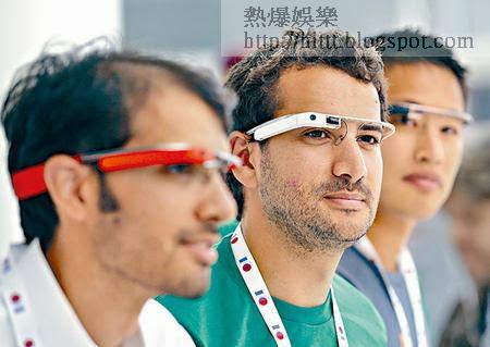 Google Glass配有光學頭戴式顯示器,是可穿戴式電腦。