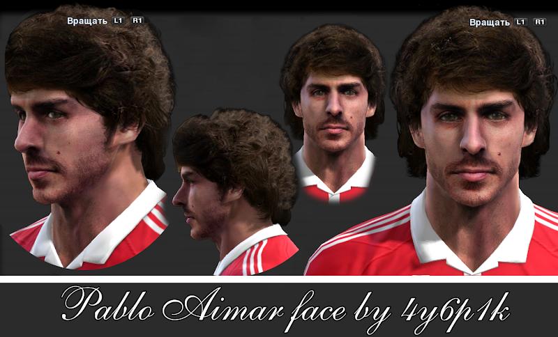 Pablo Aimar Face - PES 2013