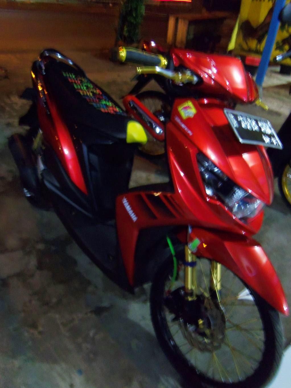 Modifikasi Mio Soul Gt Warna Merah Putih Motor