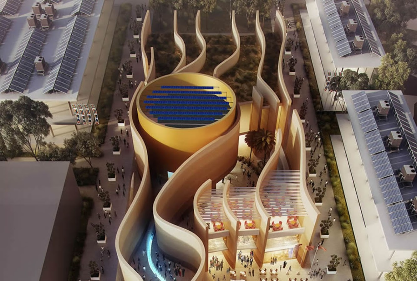Milano, Italia: Uae Pavilion Expo 2015 by Foster + Partners