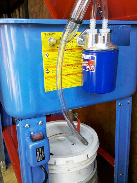 HF 20 Gallon Parts Washer Mods The Garage Journal Board