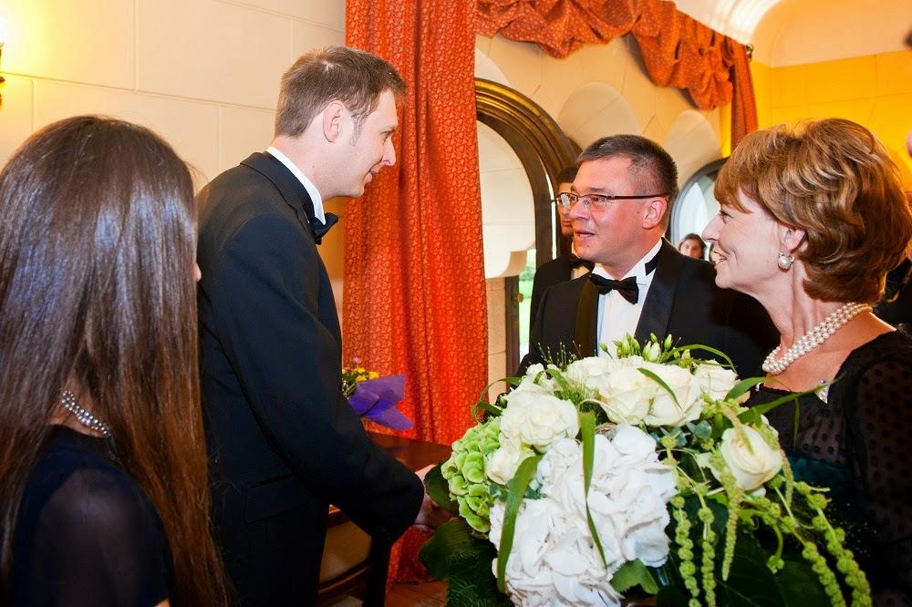Dineu în onoarea Principelui Leka al II-lea al Albaniei, Palatul Elisabeta, 25 iunie 2014