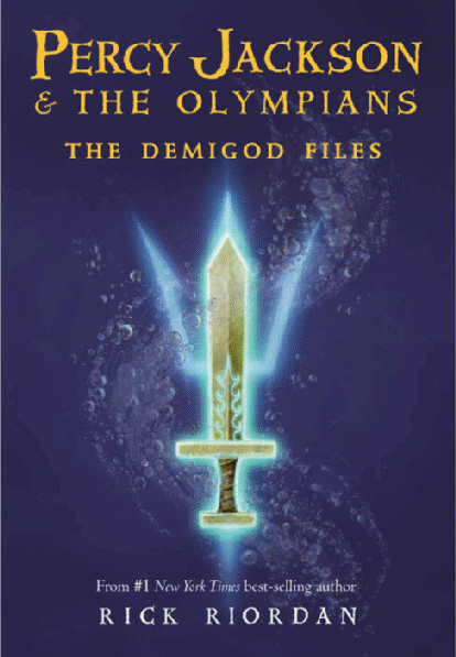 Book Review: The Demigod Files (Percy Jackson & The Olympians, Book 4.5), By Rick Riordan Cover Art