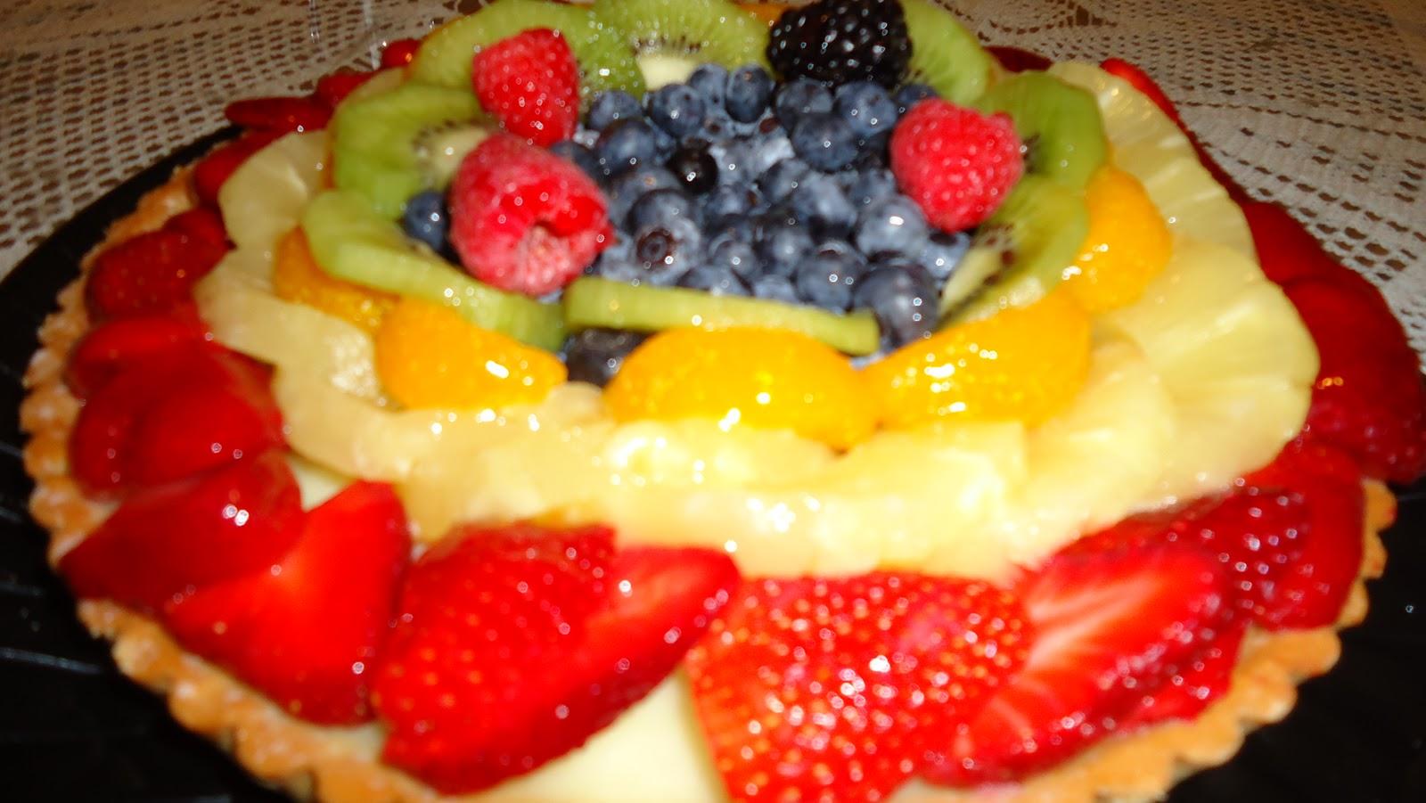 Fruit Tart Cake Harris Teeter
