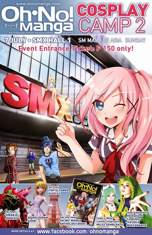 oh no manga cosplay camp 2