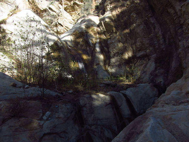bottom of the waterfall