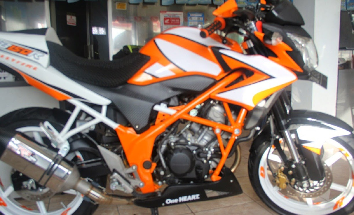 Cb150r Modifikasi Ninja Rr