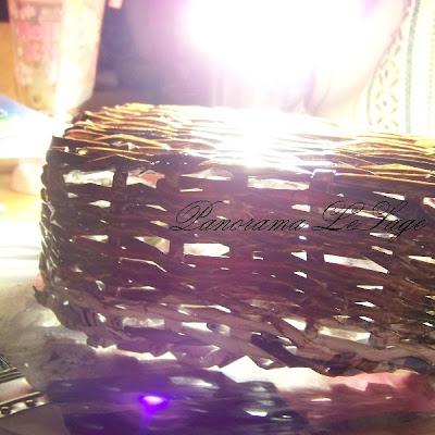 papierowa wiklina plecionki koszyk ozdoby do domu Panorama LeSage Anna Grabowska broszki szydełkowe jesienne kolorowe sezonowe