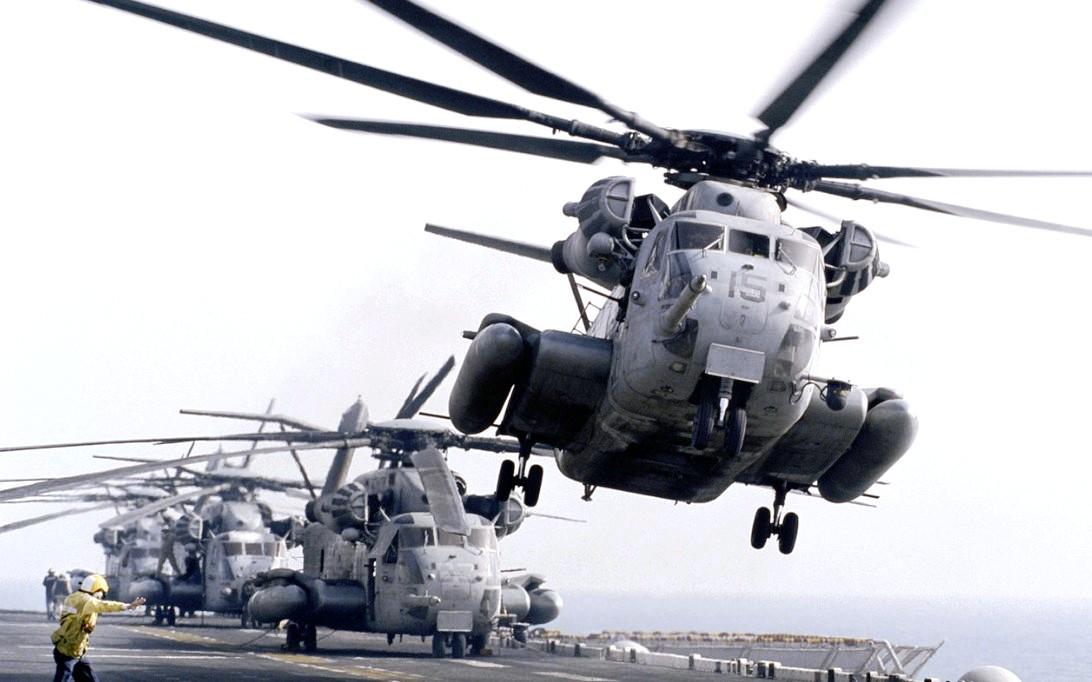 CH-53E Super Stallion Helicopter Wallpaper 3