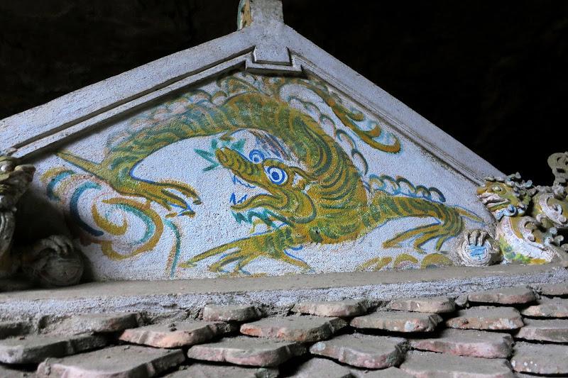 Dragon painting