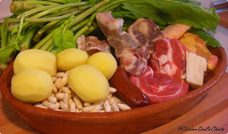 Ingredientes para Caldo Gallego con Grelos - Blog Cocina de La Chata