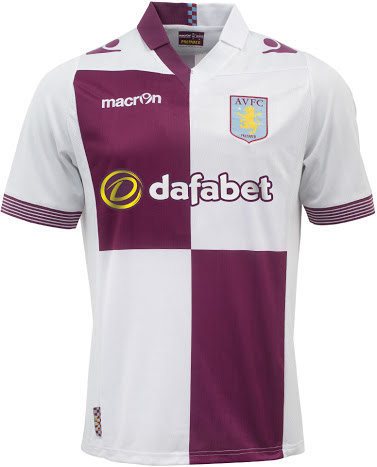 Jual Jersey Aston Villa Away Terbaru 2014
