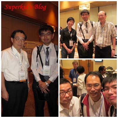 我在PACIS 2012會場遇到的華人教授們。