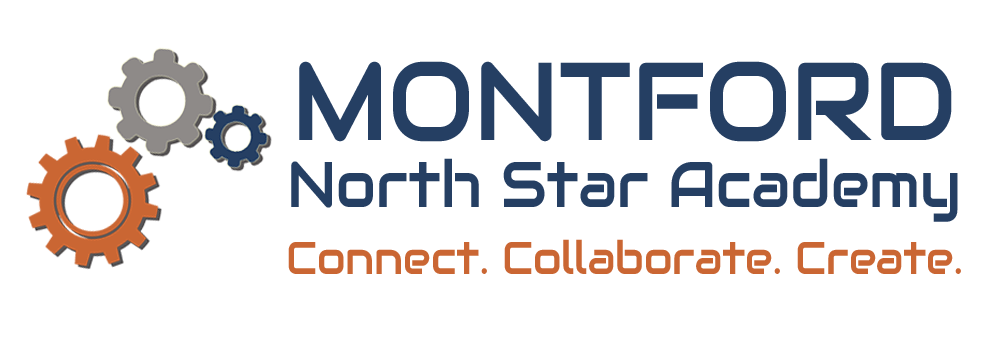 Montford North Star Academy Gear Logo.png