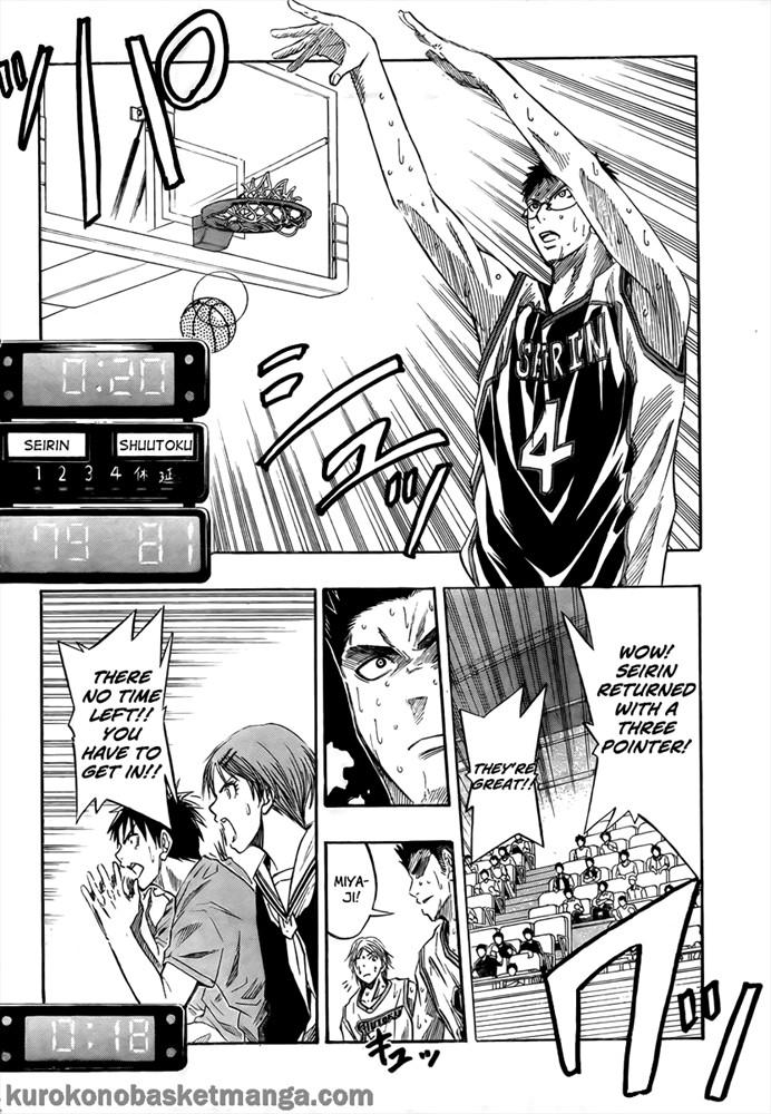 Kuroko no Basket Manga Chapter 34 - Image 12