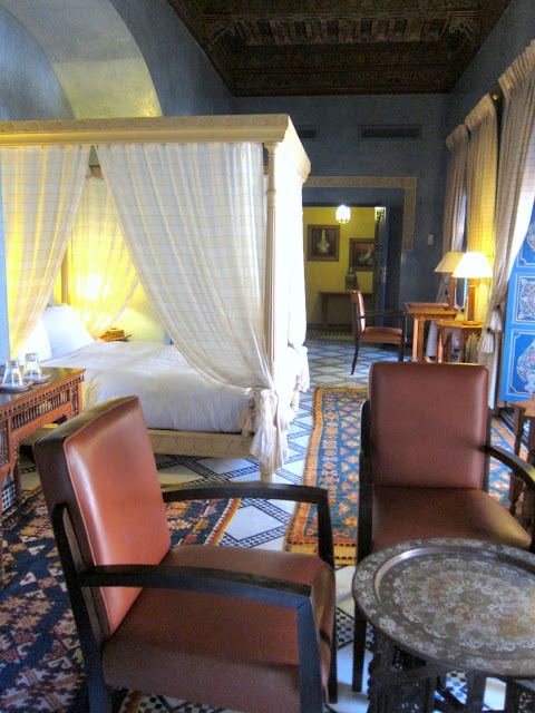 One of the suites in Riad Al Moussika