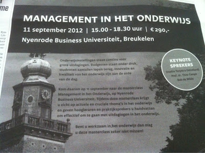 Nyenrode Business Universiteit taalblunders