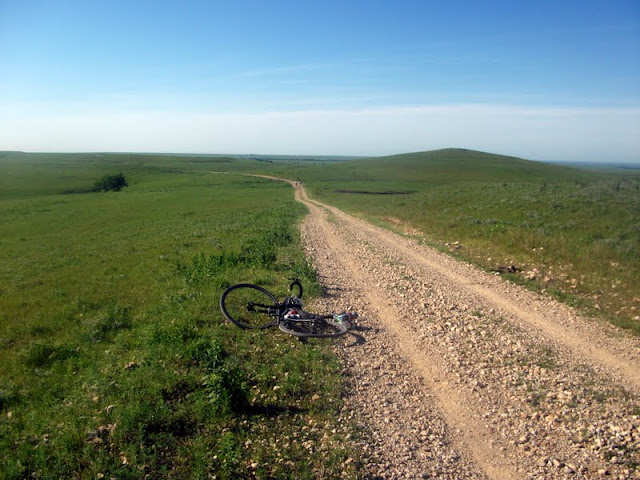 Nice view at Dirty Kanza