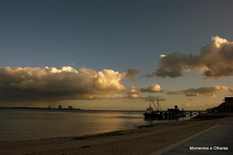 Fim de tarde na Praia da Saúde