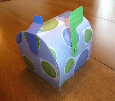 Handmade Paper Mailbox