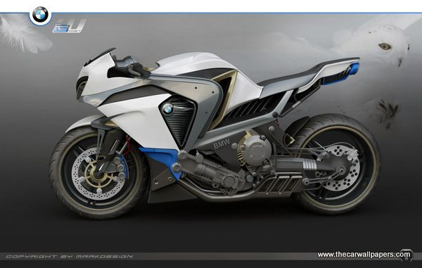 BMW Ghost Motorcycle
