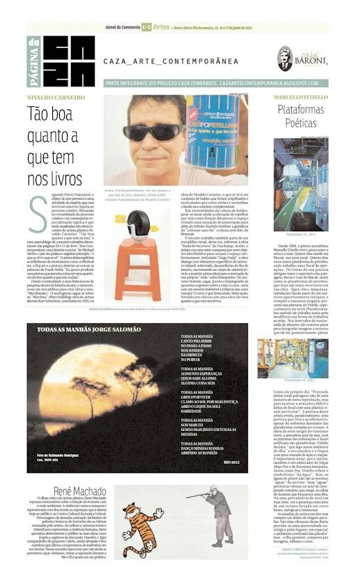 Página da Caza - 15 de Junho de 2012