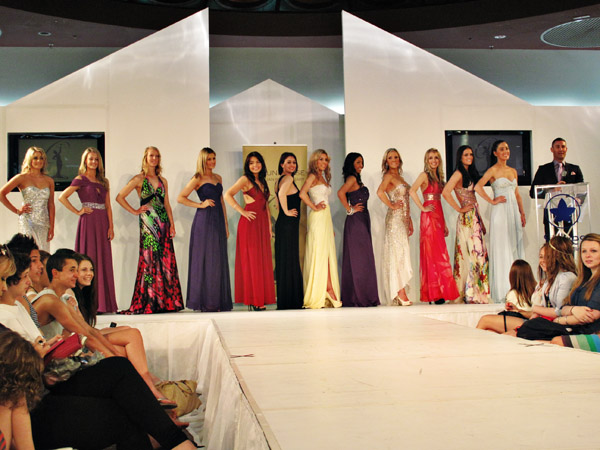 Competitors in Miss Universe Australia 2012 Beauty Pageant - Preliminary Stage