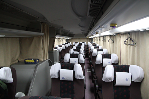 中国JRバス「出雲路」 641-0952 車内