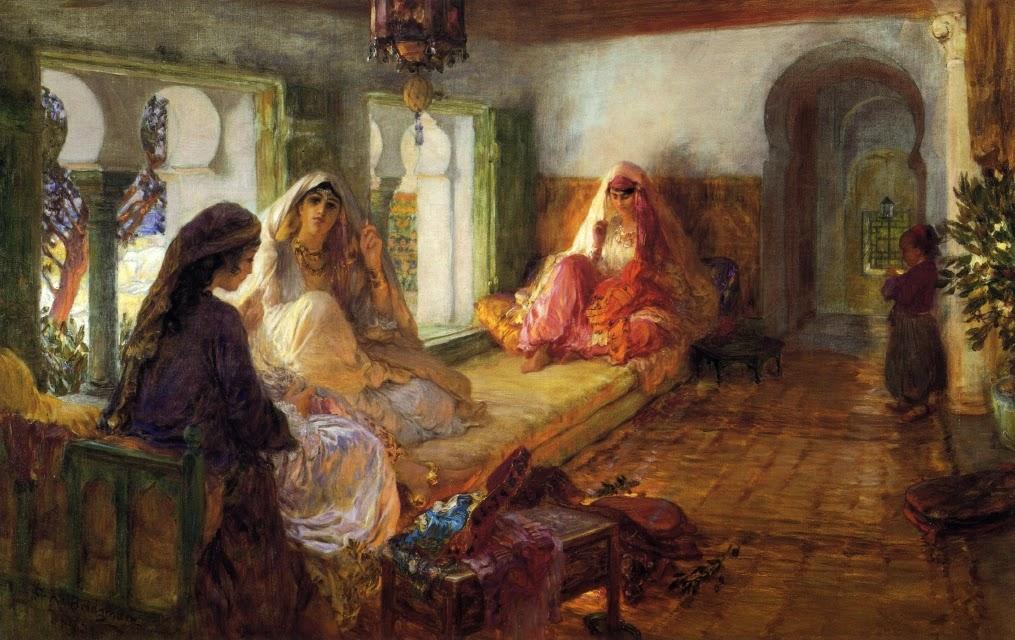 Frederick Arthur Bridgman - The Harem