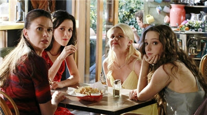 Bunheads: Michelle, Sasha, Ginny and Mel