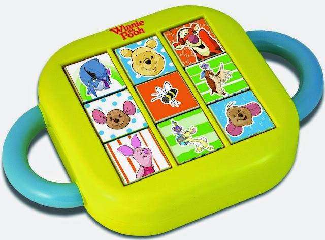 Đồ chơi xoay hình Gấu Pooh và các bạn bao gồm hình ảnh màu sắc đa dạng phong phú