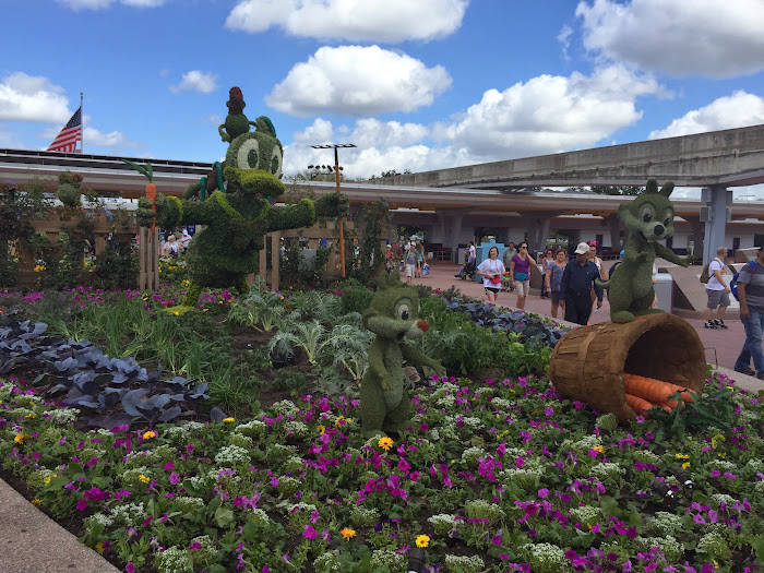 2015 epcot flower and garden