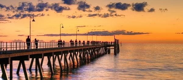 Férias em Glenelg - Austrália do Sul